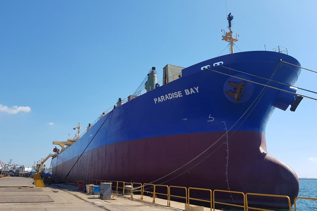 Sale of MV Paradise Bay
