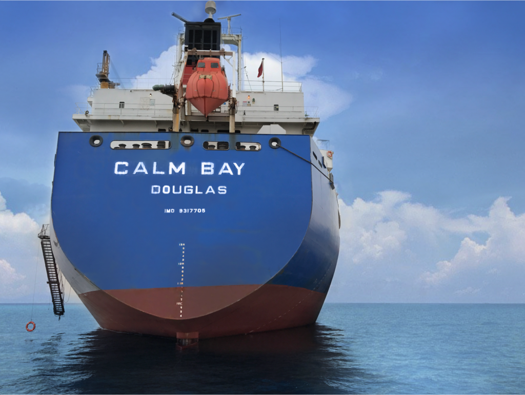 Sale of MV Calm Bay